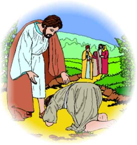 Jesus Heals Ten Lepers Craft http://www.just4kidsmagazine.com/rainbowcastle/10lepers.html