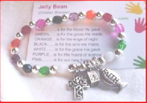 Click On Picture To Order Our Jelly Bean Bracelet In Time For Easter Prayer The Story